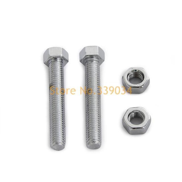 Cadeia Ajustador M8 Parafuso Kit Para Yamaha YZ 125 175 200 250 360 400 425 465 490 MX 100 DT 80