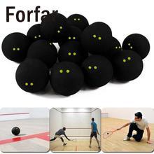 Сквош мяч с желтыми точками низкоскоростные официальные резиновые шарики Профессиональный плеер