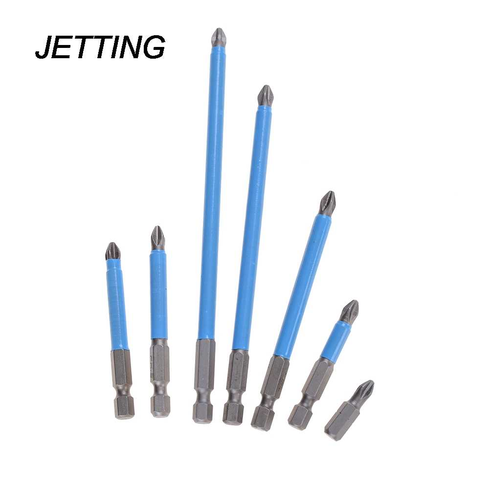 New PH2 Anti Slip Electric Screwdriver Bit Set 25mm 50mm 65mm 70mm 90mm 127mm 150mm Bits Hex Shank