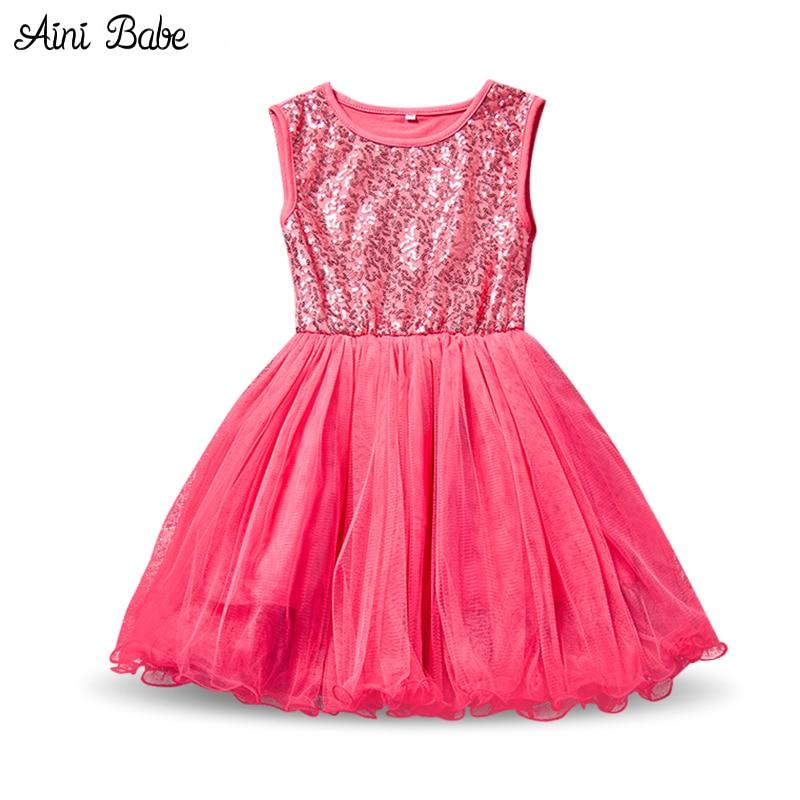 Aini Babe niños del vestido del bebé del tutú del partido Vestidos ...