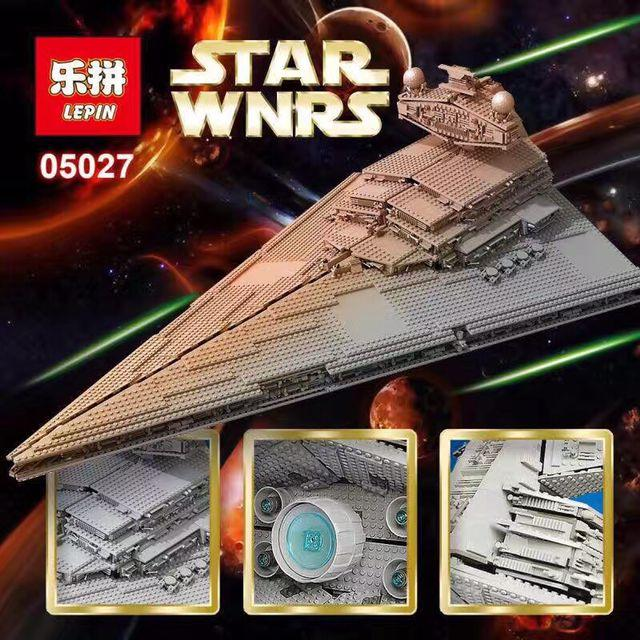 LEPIN 05027 Star DHL 3250Pcs Wars Emperor fighters starship Model Building Kit Blocks Bricks Compatible LegoINGlys 10030 Toys sort of looser пляжные брюки и шорты