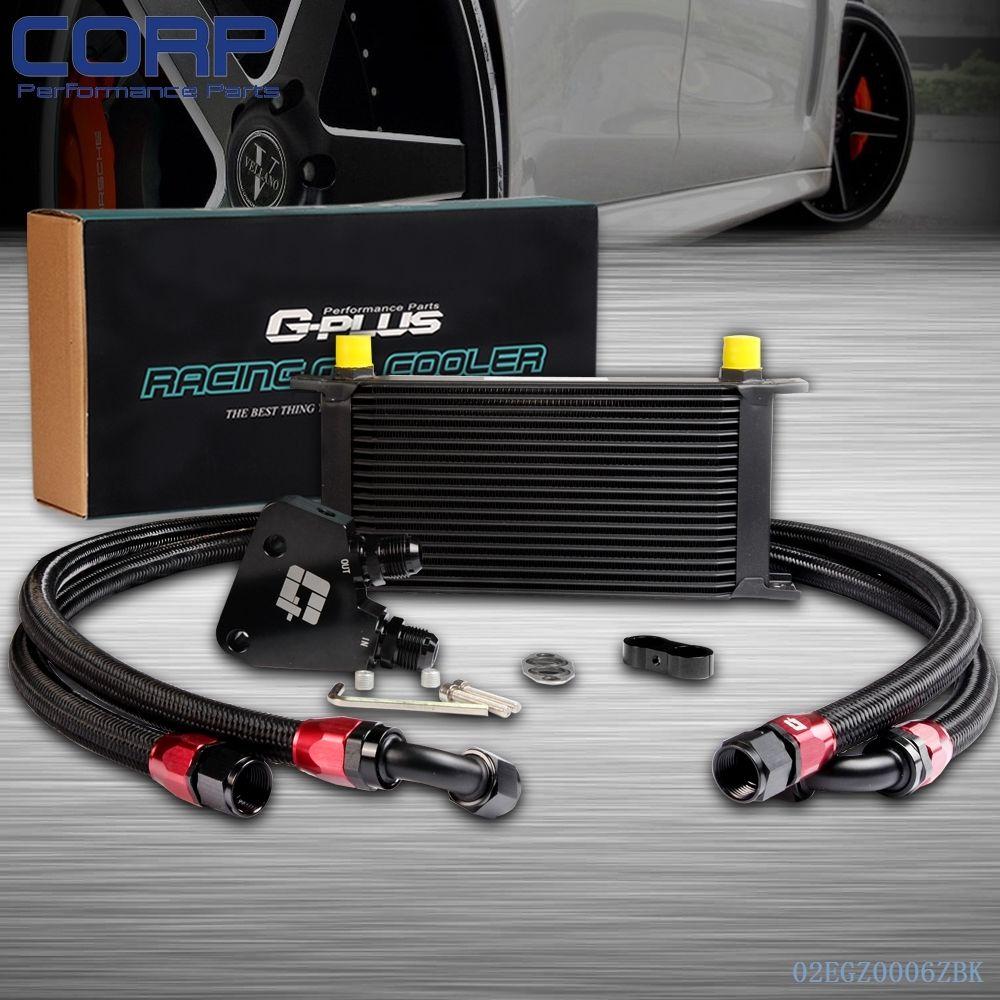 ФОТО 19 Row Engine Oil Cooler Kit + Sandwich Plate For BILLET LS1 LS2 LS3 LSX VE HSV