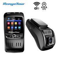 Mini Car DVR Dash Cam WIFI FHD 1296P Car Camera Dual Lens ADAS Video Recorder GPS Track Auto Camcorder Night Vision