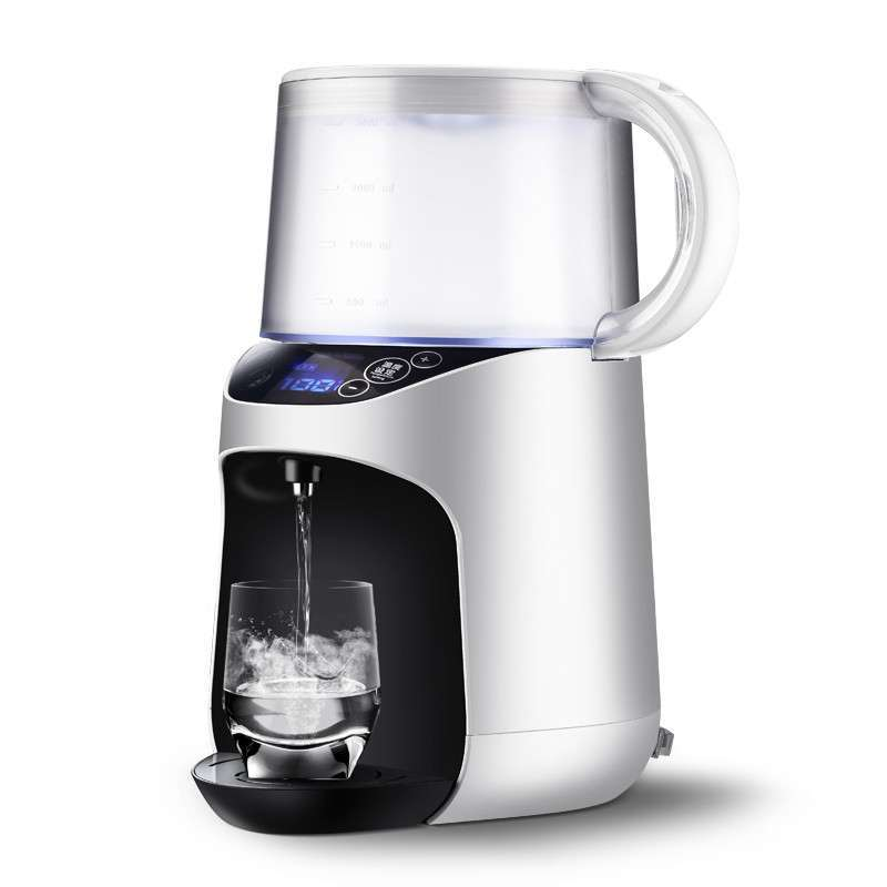 220V 3L Intelligent Water Dispenser Machine Mini Fast Heating Magnetization Electric Kettle Different Temp Show Different Color