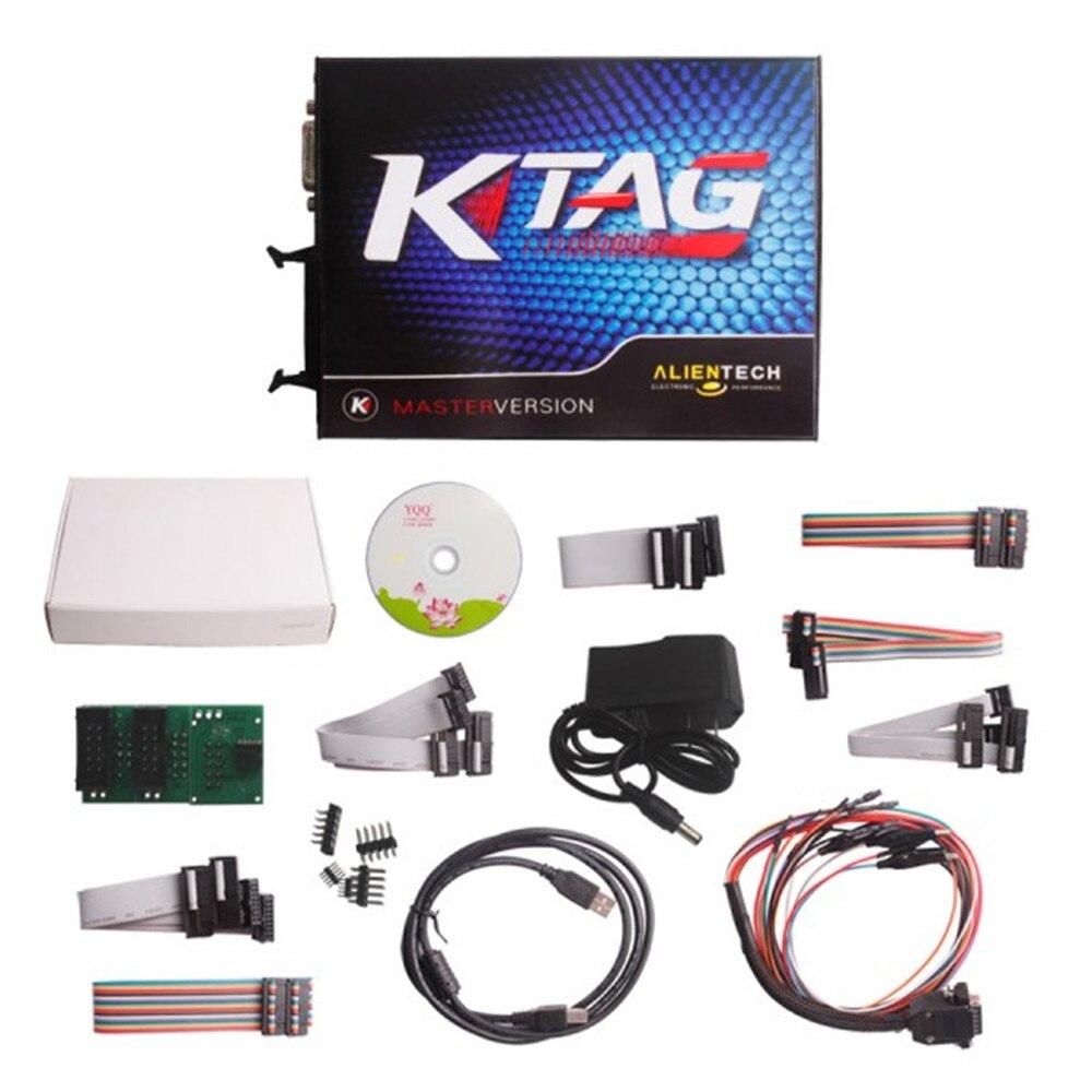 Programmeur ECU Ktag V2.11 FW V6.070 K outil de programmation ECU avec jeton illimité