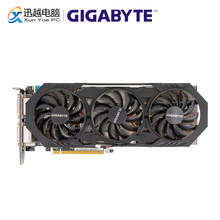 Gigabyte GV-N970WF3-4GD оригинальные видеокарты 256Bit GTX 970 4G GDDR5 видеокарта 2 * DVI 1 * HDMI 3 * DP для Nvidia GeForce GTX970(China)