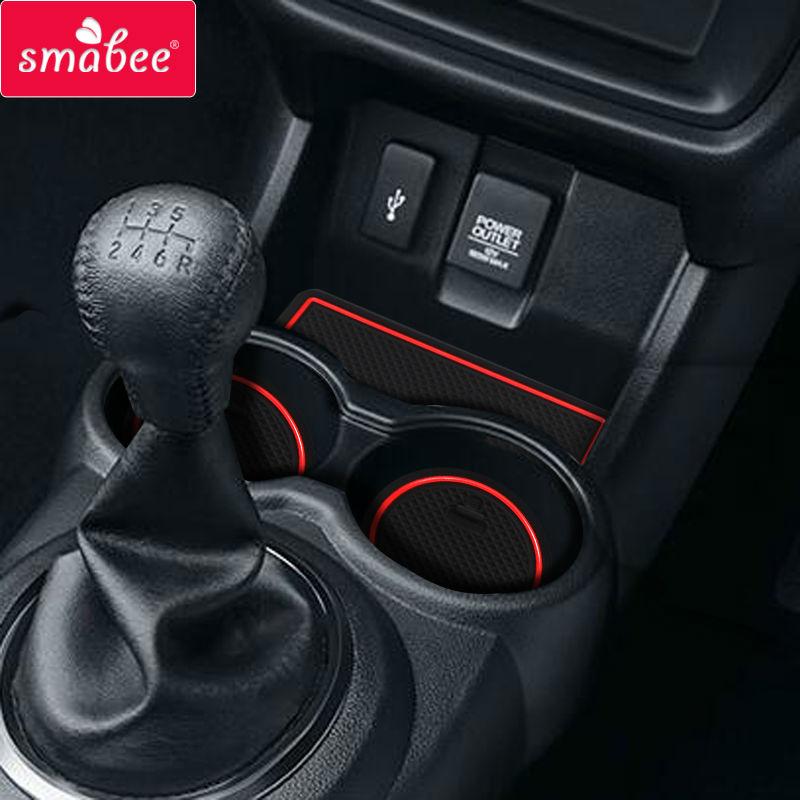 Smabee For Honda Br V 2015 2017 Gate Slot Pad Car Mat Anti Slip   Non Slip Interior Door Pad  Cup
