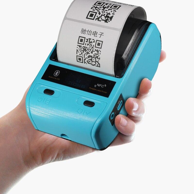 Tragbare Mini 80mm Bluetooth 2,0 Android POS Erhalt Thermische Drucker Rechnung Label Drucker Maschine Für Supermarkt Restaurant