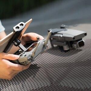 Image 5 - PGYTECH For DJI Mavic Mini Air 2 Pro Zoom Spark remote control 7 10 Pad Mobile Phone Holder Flat Bracket tablte stander