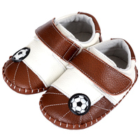 Football Baby Sneakers Newborn Baby Shoes Boy Leather Baby Moccasins Toddler Prewalker Kids Soft Sole Infant Shoes Footwear