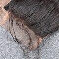 De Calidad superior 8A Indio Virginal Eslo Cierre Suelta la Onda Del Pelo Rosa Encierro del cordón del Pelo Humano de la Onda Floja 4*4 Parte Libre del Envío Libre