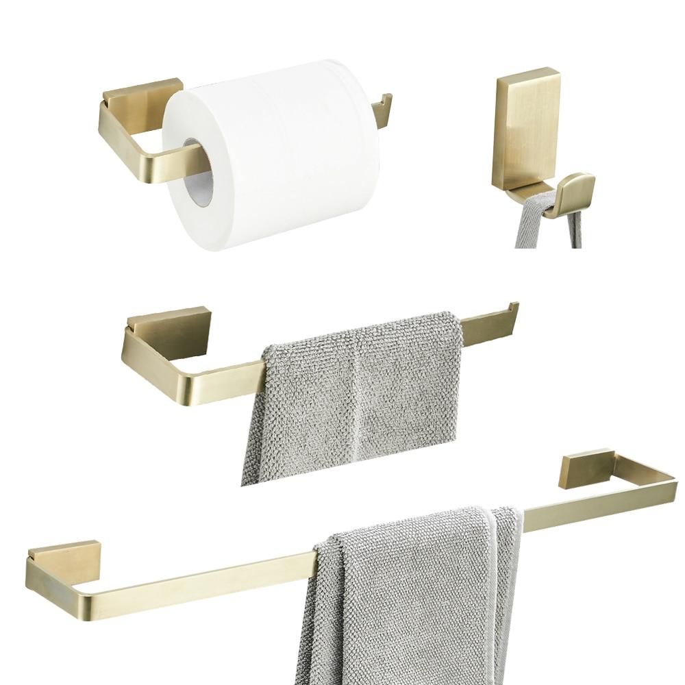 Leyden Stainless Steel 4 Piece Bathroom