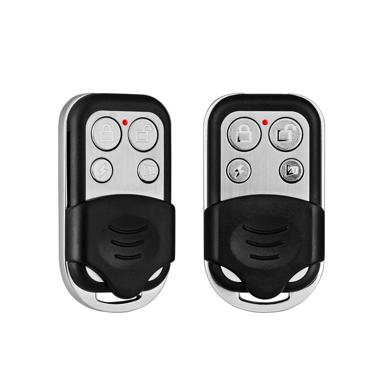 2pcs/Lot 433MHZ Wireless Remote Controller Metal Keychain for G18 G19 W2 W1 Home Security WIFI GSM Alarm System free shipping 1 pcs lot new classic wireless metal remote control controller keyfobs keychain 433mhz just for our alarm system
