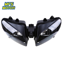 Headlight For 00 01 Yamaha YZFR1 YZF R1 YZF R1 Motorcycle Front Lamp Assembly Upper Headlamp Head Light Housing 2000 2001