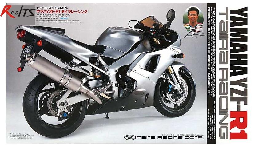RealTS Tamiya 1/12 14074 YZF-R1 TAIRA RACING Plastic Model Kit