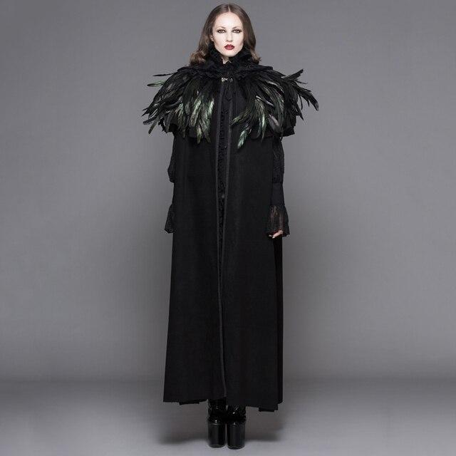Gothique Foncé Manteau De Diable Long Femmes Manteaux Steampunk Mode Fxx804
