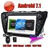 TOPNAVI 2G 16GB Quad Core Android 7 1 Car DVD Player For Suzuki SX4 S Cross
