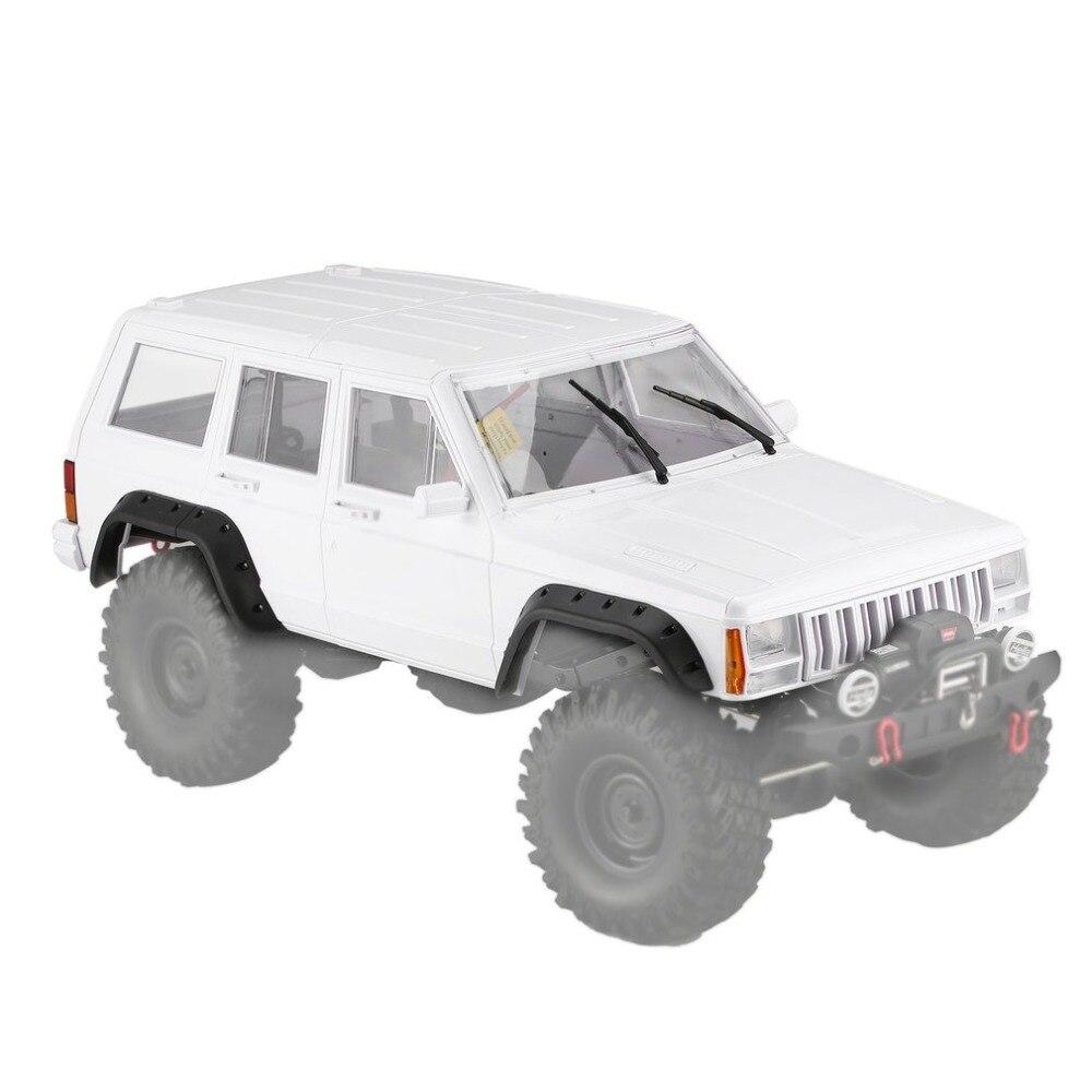 AX-313 12,3 дюймов/313 мм кузова автомобиля для 1/10 RC грузовик Crawler осевая SCX10 и SCX10 II 90046 90047 DIY Kit Автомобили тела Shell набор