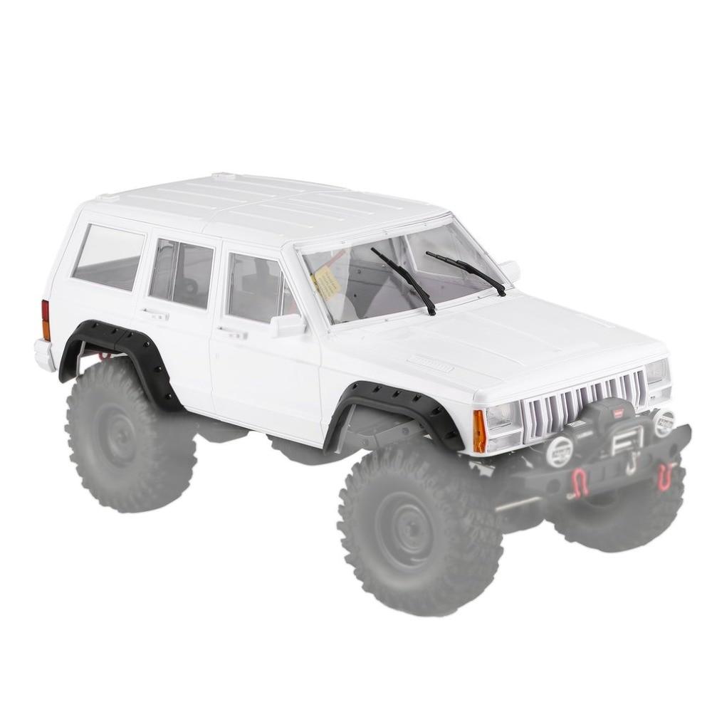 RC AX-313 de 12,3 pulgadas/313mm coche cuerpo Shell para 1/10 RC camión de orugas Axial SCX10 y SCX10 II 90046 90047 DIY coches Kit Shell Cuerpo Conjunto