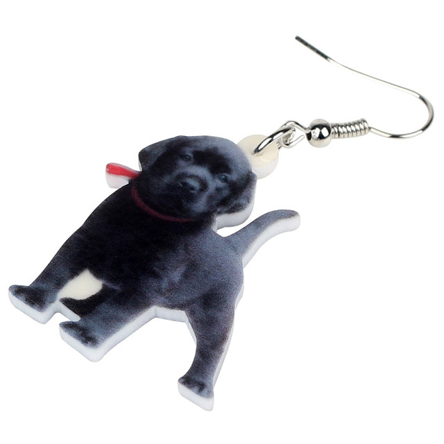 Labrador Dog Earrings 1