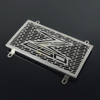 Motorcycle Stainless Steel Radiator Guard Cover Grille Grill Fuel Tank Protector For KAWASAKI Z250 2013 2015