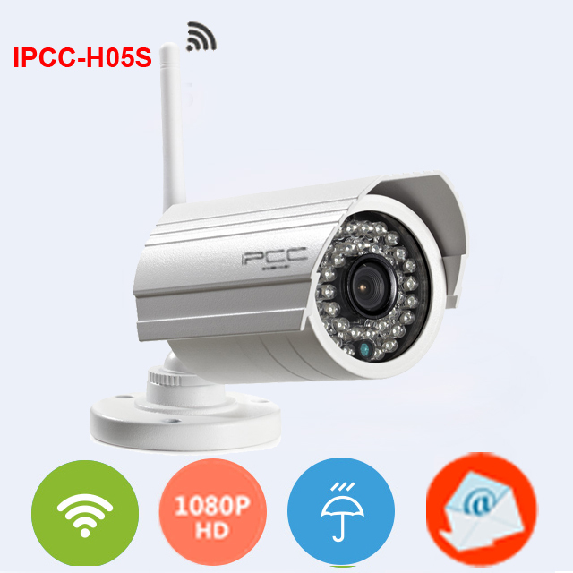 IPCC-H05S Super Mini IP camera 1080p 2mp wireless ip cam  wifi megapixel outdoor waterproof infrared HD home cctv camera