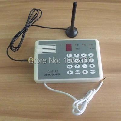 Thẻ SIM GSM Dialer Cố Định Không Dây Thiết Bị Đầu Cuối 850/900/1800/1900 Mhz Cho các Cuộc Gọi dịch hoặc Báo Động hệ thống KHÔNG CÓ NC đầu vào