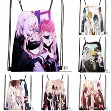 Custom DIABOLIK LOVERS &3 Drawstring Backpack Bag for Man Woman Cute Daypack Kids Satchel (Black Back) 31x40cm#180531-01-41