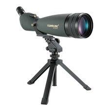 Visionking 30 90x90 à prova dwaterproof água spotting escopo zoom spotting telescópio monocular multicoated completo com tripé