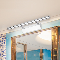 Dikale Waterproof Kitchen Sconce Bathroom Lighting Mirrors Light 3W 5W 7W 90-260v Stainless Steel modern Led Wall Light Lights