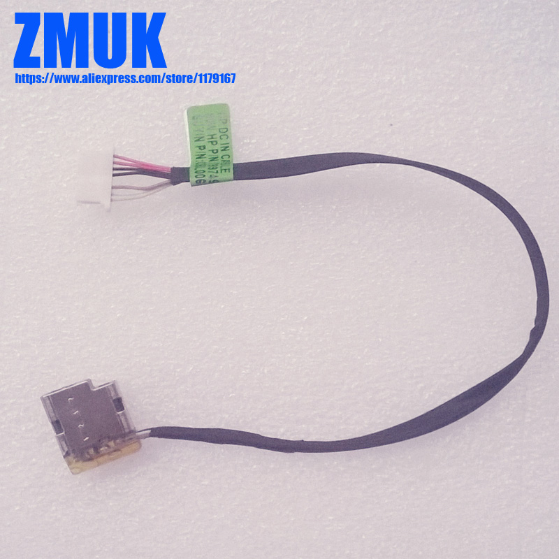 DC Power Jack w// Cable for HP Pavilion 799749-S17 Charging Port Plug 799749-F17