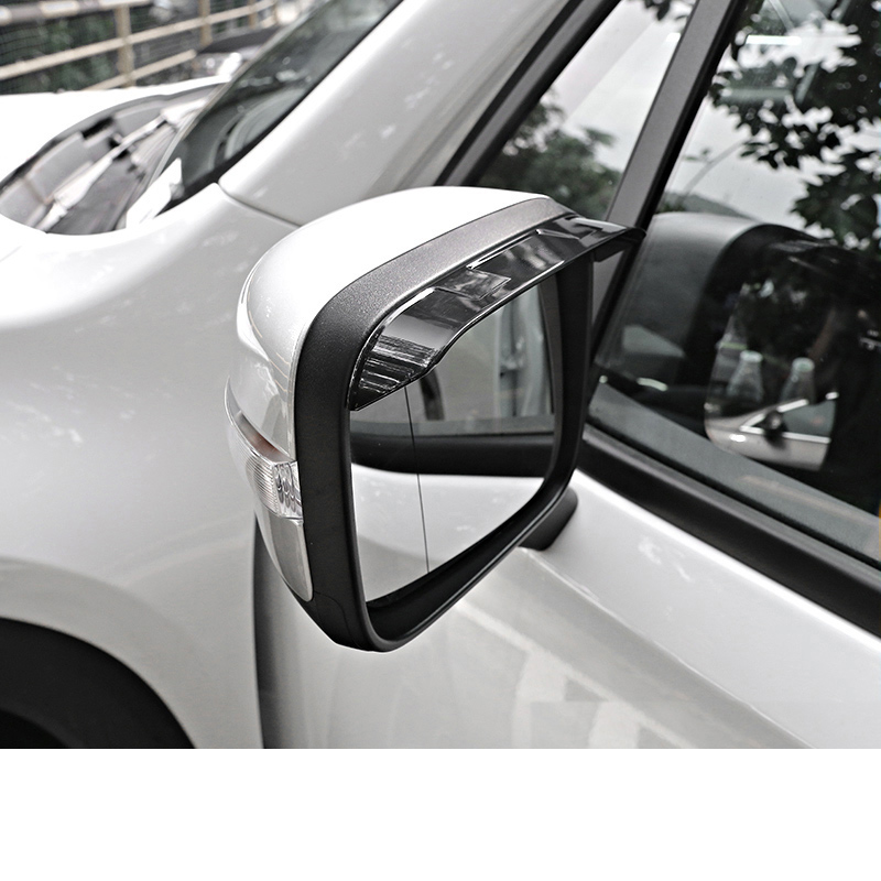 Lsrtw2017 Abs Car Reaview Frame Rearview Base Rearview Cover Protective Cover for Jeep Renegade in Interior Mouldings from Automobiles Motorcycles