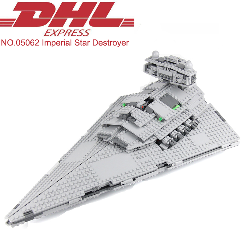 1359Pcs Star Wars Figures Imperial Star Destroyer Model Building Kits Blocks Bricks Christmas Toys For Children Compatible 75055 lepin 05028 3208pcs star wars building blocks imperial star destroyer model action bricks toys compatible legoed 75055