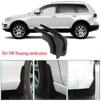 4pcs Premium Heavy Duty Molded Splash Mud Flaps Guards Fenders For VW Touareg 2006-2010