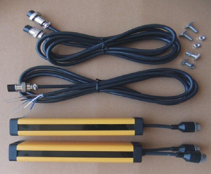 4 балла расстояние 20 мм реле из положить Protecter 4 балла свет безопасности занавес решетки гидравлические защиты удар датчик