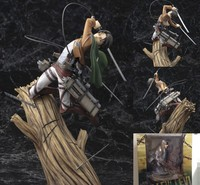 Attack on Titan Levi Rivaille 1/8 Scale Pre painted PVC Levi Ackerman Action Figure Collectible Model Toy