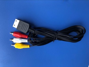 Image 1 - 100 יחידות 1.8 m מרוכבים AV אודיו וידאו טלוויזיה מתאם כבל עבור SEGA Dreamcast כבל AV כבל עבור DC128 הנמוך ביותר המחיר על aliexpress