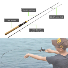 2016 NEW fishing rod 1.8m cheap casting spinning 99% carbon fiber 4 SEC UL power for