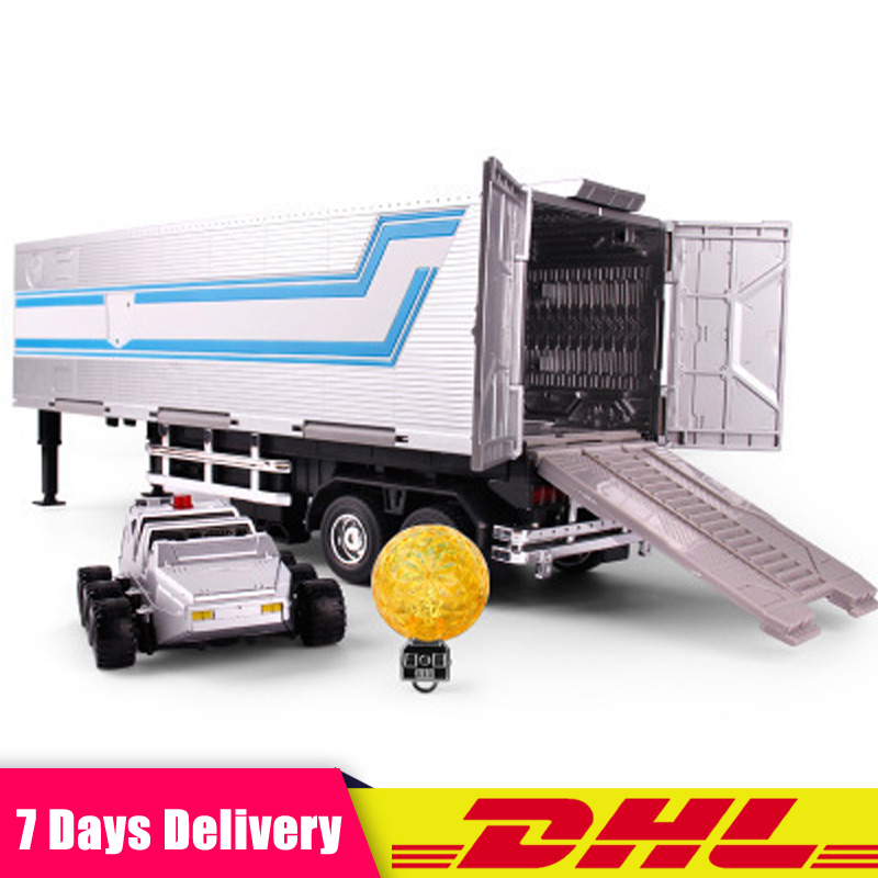 DHL Wei Jiang Transformation OP Commander Orignal Transparent Dark Black Trailer Mpp10 Mp01 Oversize Container Figure Robot Toys weijiang deformation mpp10 e mpp10 eva purple alloy diecast oversized metal part transformation robot g1 figure model in box