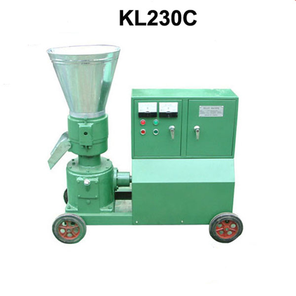 11KW KL230C Feed Wood Pellet Mill Biomass Pellet Press With Motor