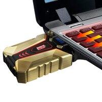 PCCOOLER Adjustable Laptop Cooler Pad USB Portable Notebook Cooler Cooling Pad For Notebook Computer Hardware Cooling