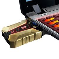 PCCOOLER Laptop Cooler USB Portable Notebook Cooler Cooling for Notebook computer hardware cooling for 14 15 15.6 17 Inch