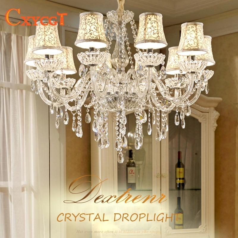 Modern LED White Crystal Chandelier Lights Lamp For Living Room Light Ceiling Fixture Indoor Pendant Lamp Home Decorative конструктор enlighten brick город 111 центр спасения мчс г13594