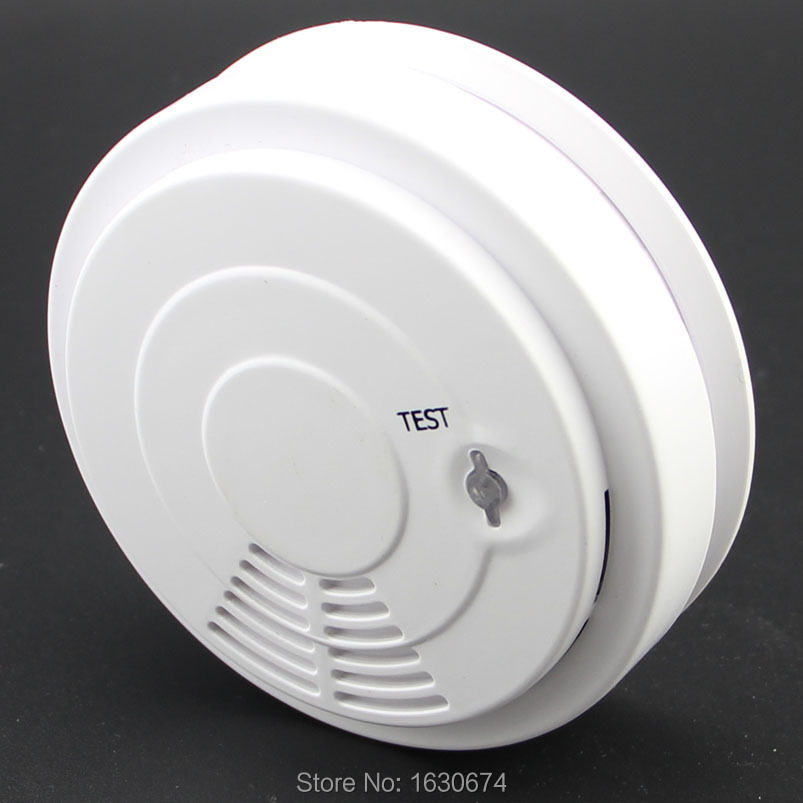 new design!Wireless Smoke detector Contact Alarm Fire Sensor Detector for our g5/s4 gsm pstn Alarm System engineering hotel fire alarm police bell fire fire bell 220v 4 inch suit