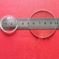 Optische Glas brennweite Optik Doppel Konkave Linse Plano Konvexen Objektiv Set Für Hausgemachte Einfache Teleskop-in Objektive aus Werkzeug bei