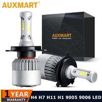36W H7 Car LED Headlight Single Beam COB LED Light Bulb Fog Lamp 6500k 12V 24V