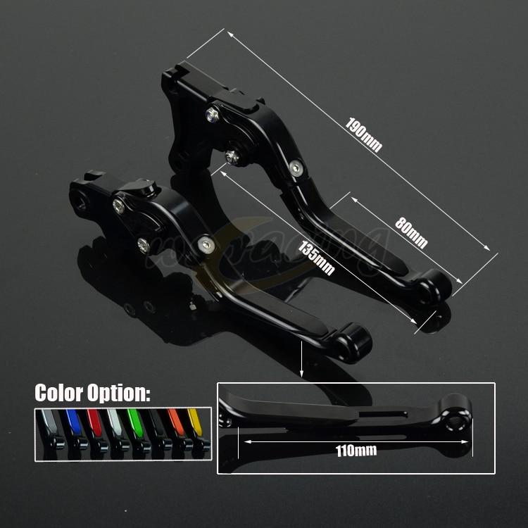 CNC Adjustable Motorcycle Billet Foldable Pivot Extendable Clutch &Brake Lever For TRIUMPH SPEEDMASTER THRUXTON STEVE MCQUEEN SE cnc adjustable motorcycle billet foldable pivot extendable clutch