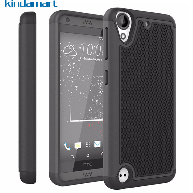 timeless design 08ab3 cd7d7 US $3.55 |For HTC Desire 530 Case Silicone Bumper Shockproof Cover Hard  Protective Case For HTC Desire 530 Desire 630 Dual SIM Case Cover-in Fitted  ...