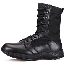 Military Boots Mens Ultra-light Combat In Spring Summer Special Forces Air-permeable Land Desert Tactical
