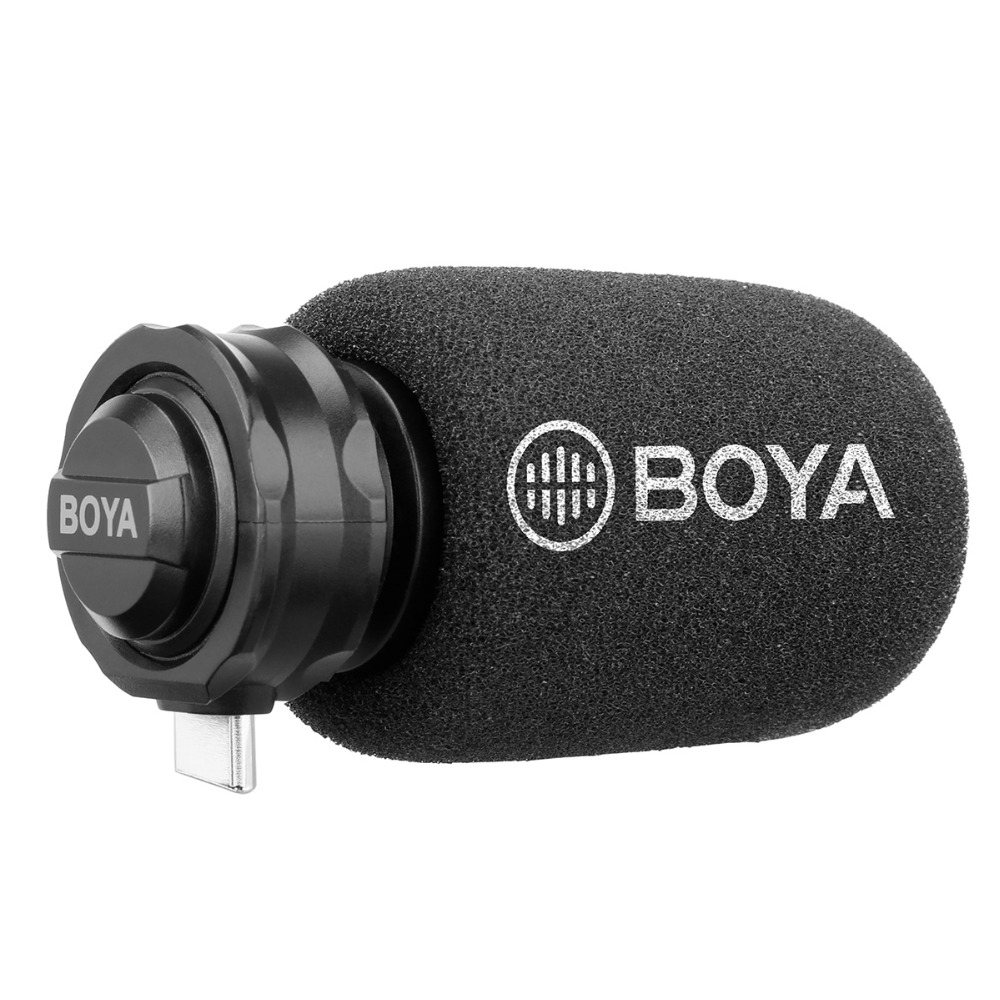 boya by dm100 microphone for tybe c android digital condenser stereo microphone superb sound for. Black Bedroom Furniture Sets. Home Design Ideas